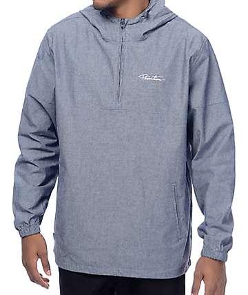 Primitive Endeavor Blue Anorak Jacket