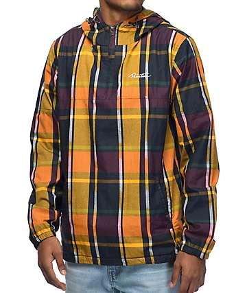 Primitive Endeavor chaqueta anorak en color amarillo