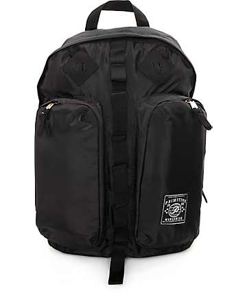 Primitive Essential Black Backpack