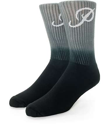 Primitive Fader Grey Crew Socks