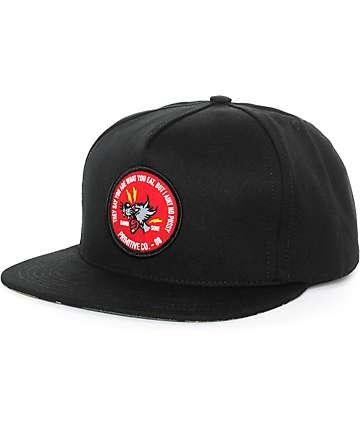 Primitive Feline Strapback Hat