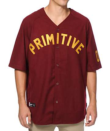 Primitive Fielder Baseball Jersey