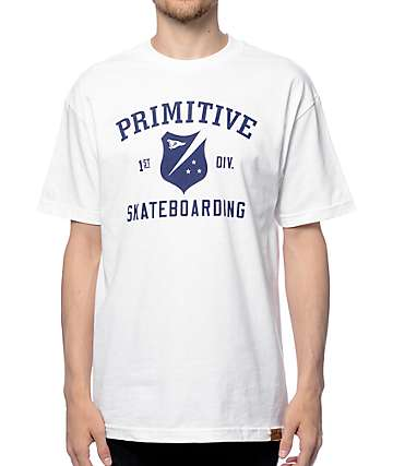 Primitive First Division White T-Shirt