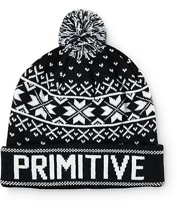 Primitive Frost Deux Pom Beanie