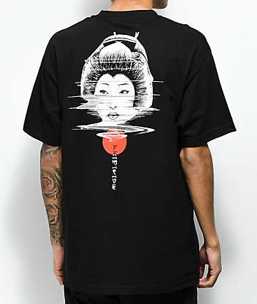 Primitive Geisha PJ Black T-Shirt