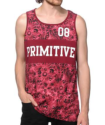 Primitive Good For Life Block Tank Top