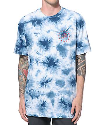 Primitive Good For Life Stars Tie Dye T-Shirt