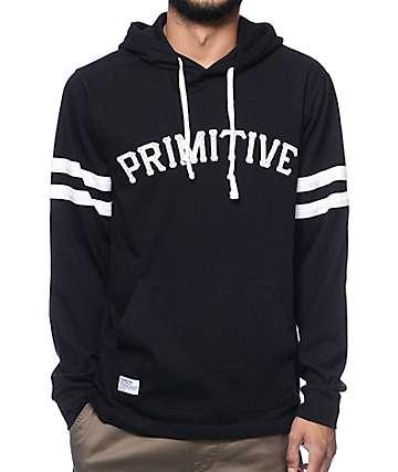 Primitive Hooligan Black Pullover Hoodie