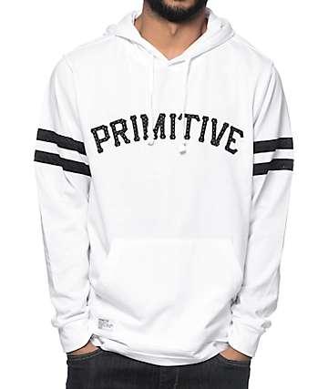 Primitive Hooligan White Pullover Hoodie