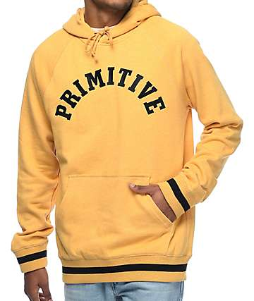 Primitive Ivy League Heather Gold Hoodie