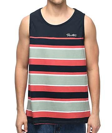 Primitive Jacquard camiseta sin mangas en azul marino