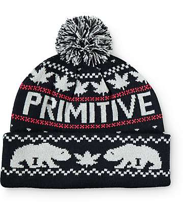 Primitive Jolly Bear Deux Pom Beanie
