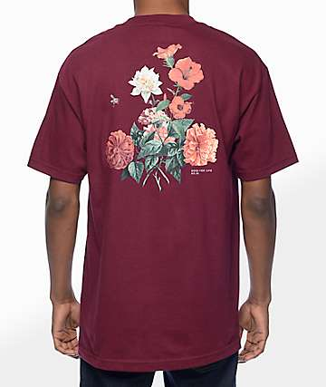 Primitive Killer Burgundy T-Shirt