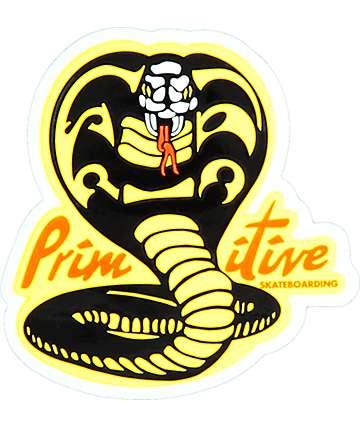 Primitive Kobra Kai Sticker