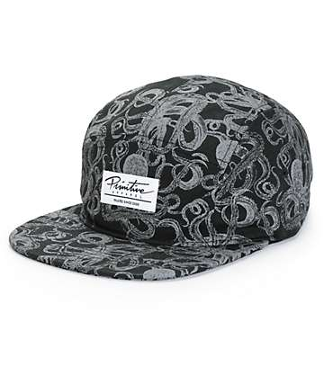 Primitive Kraken 5 Panel Hat