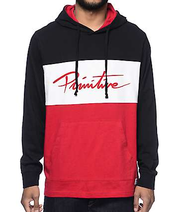 Primitive Marathon Long Sleeve Hooded T-Shirt
