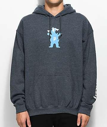 Primitive Mascot Charcoal Hoodie