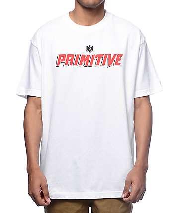 Primitive Mondo Cerveza White T-Shirt
