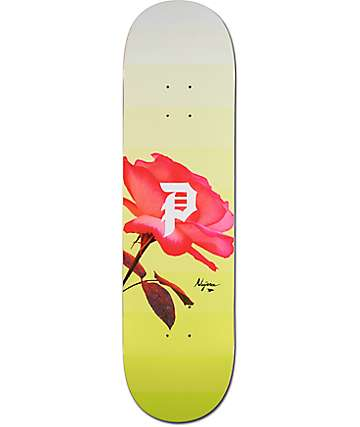 "Primitive Najera Rose Out 8.25"" Skateboard Deck"