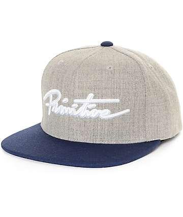 Primitive Nuevo Script Strapback Hat