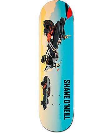 "Primitive ONeill Mad Max 8.25""  Skateboard Deck"