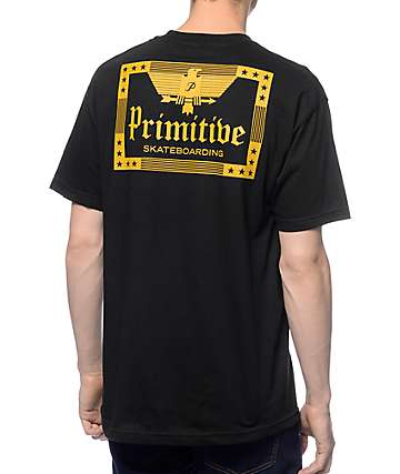 Primitive Old World Black T-Shirt