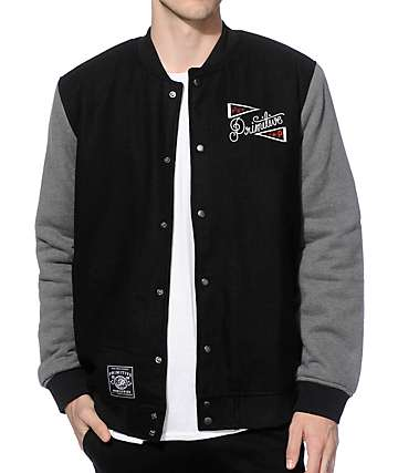 Primitive Outfield Varsity Jacket
