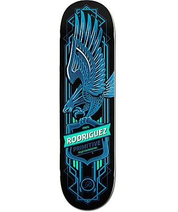 Primitive P-Rod Blue Eagle 8.0 Skateboard Deck