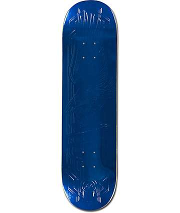 "Primitive P-Rod Blue Foil Eagle 8.25""  Skateboard Deck"