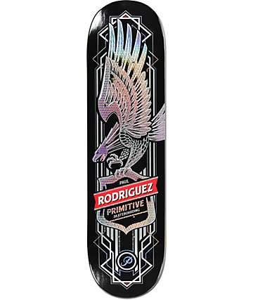 "Primitive P-Rod Eagle Prism 8.25""  Skateboard Deck"