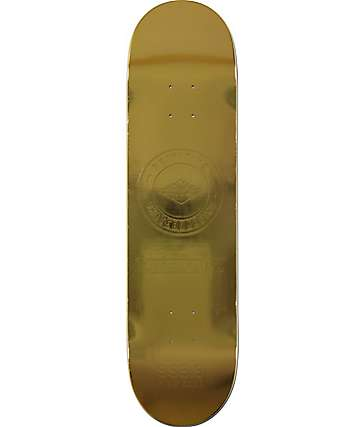 "Primitive P-Rod Gold Bar 8.1"" Skateboard Deck"