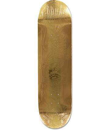 "Primitive P-Rod Gold Eagle 8.25""  Skateboard Deck"