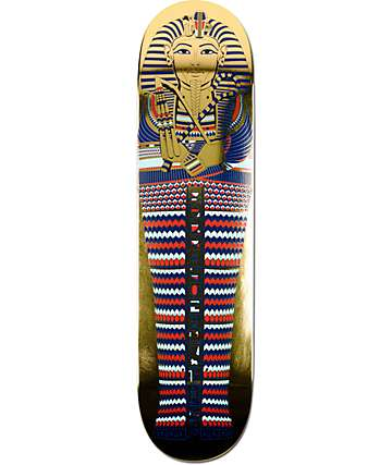"Primitive P-Rod Pharaoh 8.0"" Skateboard Deck"
