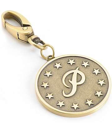 Primitive P Stars Keychain