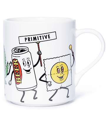 Primitive Party Train Mug