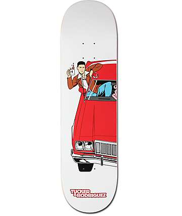 "Primitive Paul Rodriguez Hutch 8.0"" Skateboard Deck"