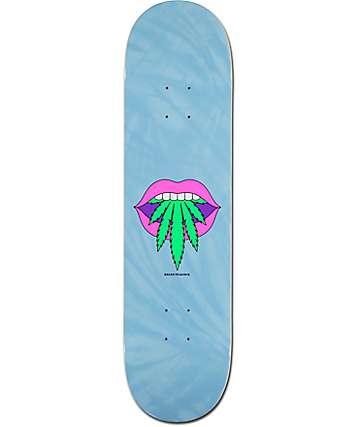 "Primitive Peacock Taste Buds 8.0"" Skateboard Deck"