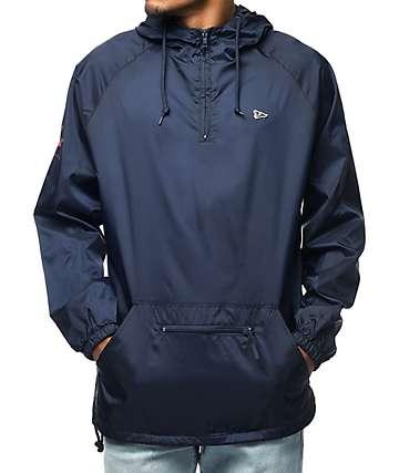 Primitive Pennant Arch Navy Anorak Jacket