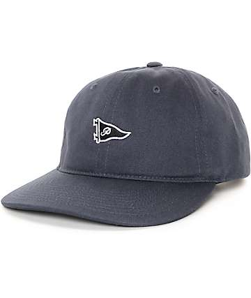 Primitive Pennant Navy Strapback Hat