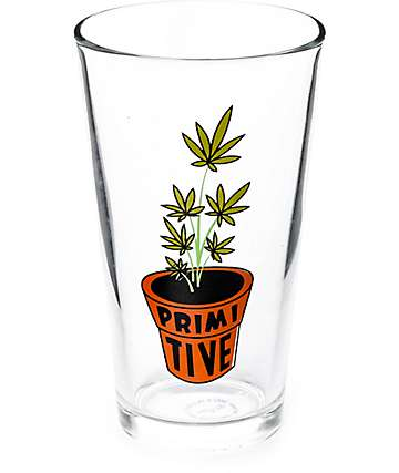Primitive Planter Pint Glass