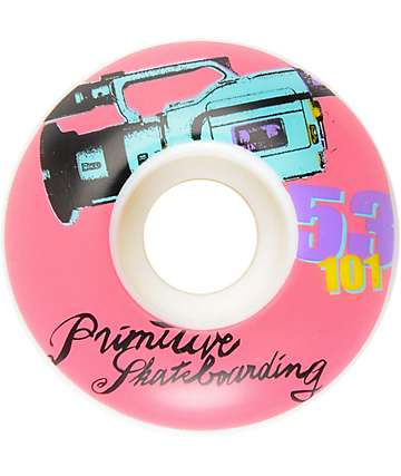 Primitive Pop Art 1000 Team 53mm 101a Skateboard Wheels