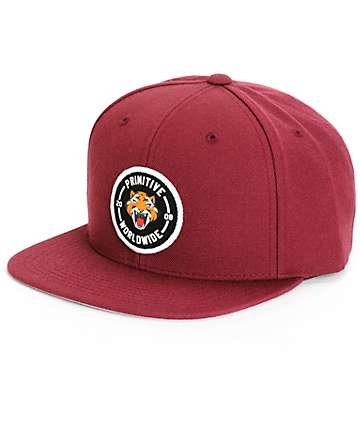 Primitive Rally Patch Snapback Hat