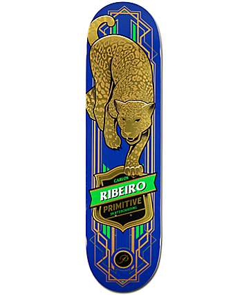Primitive Ribeiro Blue Jaguar 8.0 Skateboard Deck