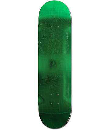 "Primitive Ribeiro Green Foil Jaguar 8.1"" Skateboard Deck"