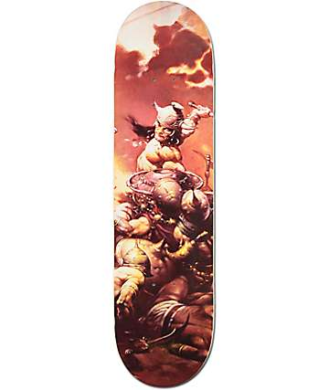 "Primitive Rodriguez Destroyer 8.1""  Skateboard Deck"