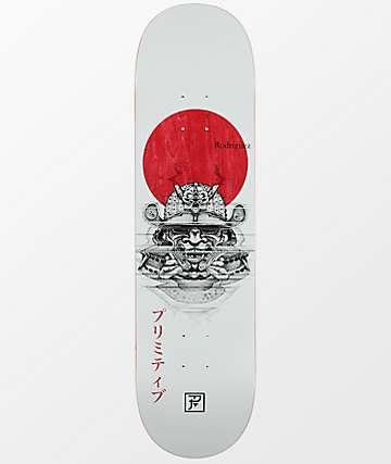 "Primitive Rodriguez PJ Samurai 8.25"" Skateboard Deck"