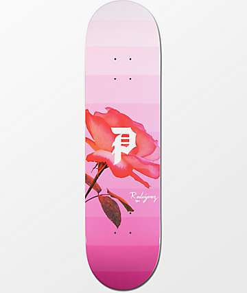"Primitive Rodriguez Rose Out 8.1"" Skateboard Deck"
