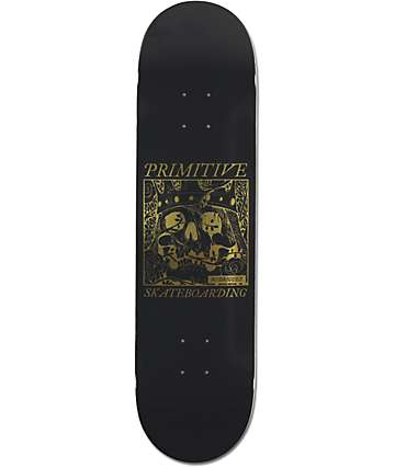 "Primitive Rodriguez Skull King 8.125"" Skateboard Deck"