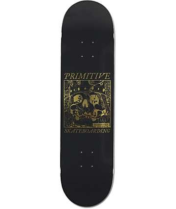 "Primitive Rodriguez Skull King 8.125"" Skateboard Deck"
