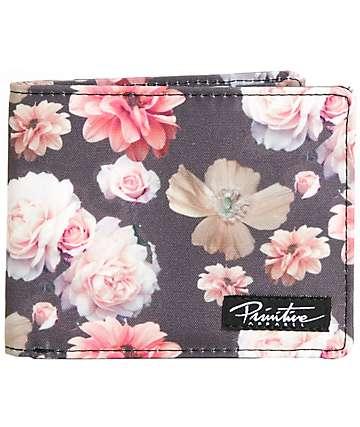 Primitive Rose Noir Bifold Wallet
